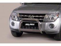 Big Bar U Mitsubihi Pajero 12-14 Stainless Steel W/ EC