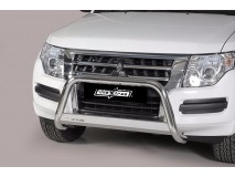 Big Bar U Mitsubihi Pajero 2015+ Stainless Steel W/ EC