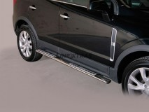 Side Steps Opel Antara 2011+ Stainless Steel DSP