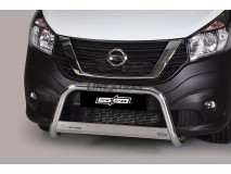Big Bar U Nissan NV 300 SWB 2017+ Stainless Steel W/ EC