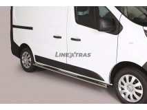 Side Steps Nissan NV 300 SWB 2017+ Stainless Steel GPO