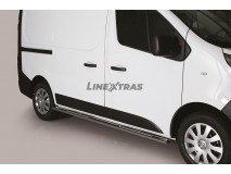 Side Steps Nissan NV 300 SWB 2017+ Stainless Steel DSP