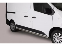 Side Protections Nissan NV 300 SWB 2017+ Stainless Steel Tube 63MM