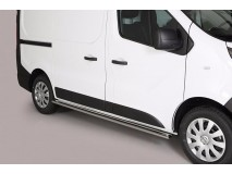 Side Protections Nissan NV 300 SWB 2017+ Stainless Steel Oval