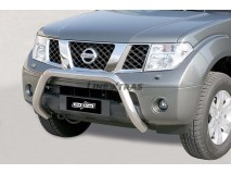 BIG BAR U INOX 76MM NISSAN PATHFINDER W/ECE