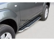 Side Steps Nissan Pathfinder 05-11 Stainless Steel W/ Platform