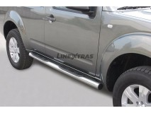 Side Steps Nissan Pathfinder 05-11 Stainless Steel Tube 76MM