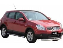 Protección Delantera Nissan Qashqai 07-10 Inox 76MM