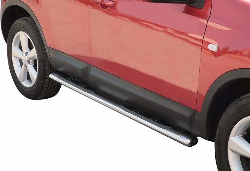 Side Steps Nissan Qashqai 07-10 Stainless Steel GPO