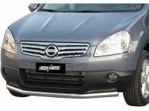 Front Protection Nissan Qashqai +2 2008+ Stainless Steel 63ММ
