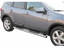 Estriberas Nissan Qashqai +2 2008+ Inox Tubo 76MM