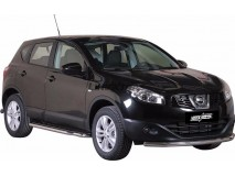 Front Protection Nissan Qashqai 10-13 Stainless Steel 63ММ