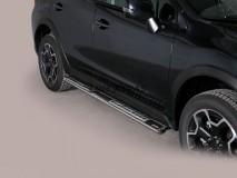 Side Steps Subaru XV 2012+ Stainless Steel DSP