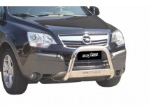 Big Bar U Opel Antara 07-11 Stainless Steel W/ EC