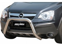 BIG BAR U INOX 76MM OPEL ANTARA C/ECE