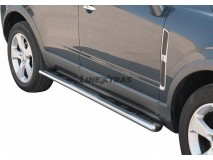 Side Steps Opel Antara 07-11 Stainless Steel GPO
