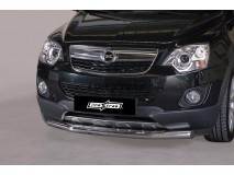 Front Protection Opel Antara 2011+ Stainless Steel 76ММ