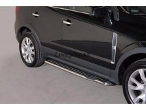 Side Steps Opel Antara 2011+ Stainless Steel W/ Platform