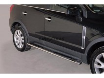 Side Steps Opel Antara 2011+ Stainless Steel GPO