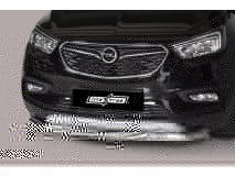 Front Protection Opel Mokka X 2016+ Stainless Steel 63ММ
