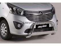 Big Bar U Opel Vivaro 2014+ Stainless Steel W/ EC