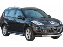 Front Protection Peugeot 4007 2008+ Stainless Steel 76ММ