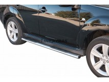 Side Steps Peugeot 4007 2008+ Stainless Steel GPO