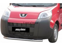 Front Protection Peugeot Bipper 2008+ Stainless Steel 63ММ
