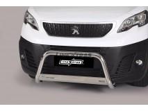 Big Bar U Peugeot Expert 2016+ MWB Stainless Steel W/ EC