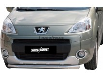 Front Protection Peugeot Partner 08-15 Stainless Steel 63ММ