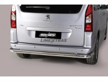 Rear Protection Peugeot Partner 2008+ Stainless Steel 63MM