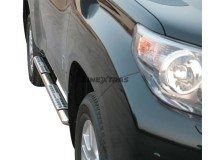 Side Steps Toyota Land Cruiser 150 2009+ 5D Stainless Steel DSP