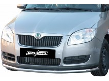 Front Protection Skoda Roomster 2007+ Stainless Steel 63ММ