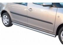 Side Protections Skoda Roomster 2007+ Stainless Steel Tube 63MM