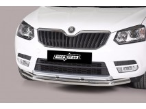 Front Protection Skoda Yeti 4x2 / 4x4 2014+ Stainless Steel 63ММ