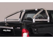 Roll-Bar Ssangyong Actyon Sports 2012+ Stainless Steel W/O Logo