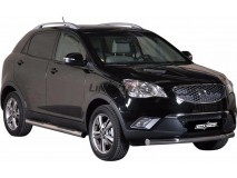 Front Protection Ssangyong Korando 2011+ Stainless Steel 76ММ
