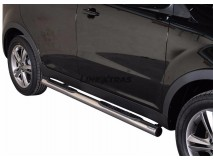 Side Steps Ssangyong Korando 2011+ Stainless Steel Tube 76MM