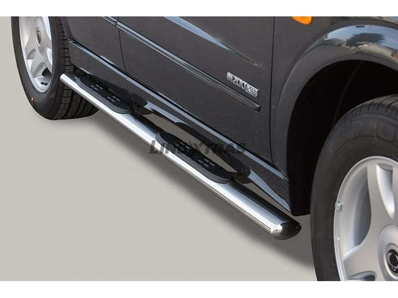 Side Steps Ssangyong Kyron 06-07 Stainless Steel GPO