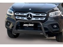 Big Bar U Mercedes-Benz X Class 2017+ Stainless Steel Black W/ EC