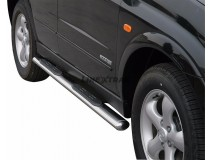 Side Steps Ssangyong Kyron 2007+ Stainless Steel GPO
