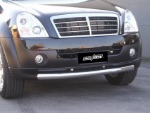 Front Protection Ssangyong Rexton II 2006+ Stainless Steel 76ММ