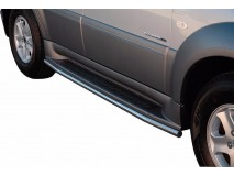 Side Protections Ssangyong Rexton II 2006+ Stainless Steel Tube 40MM