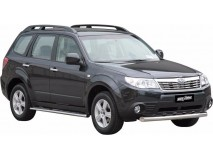 Front Protection Subaru Forester 08-12 Stainless Steel 76ММ