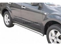 Side Protections Subaru Forester 08-12 Stainless Steel Tube 63MM