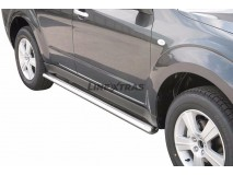 Side Protections Subaru Forester 08-12 Stainless Steel Oval