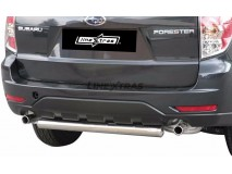 Rear Protection Subaru Forester 08-12 Stainless Steel Tube 76MM