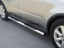 Side Steps Subaru Tribeca 06-07 Stainless Steel Tube 76MM