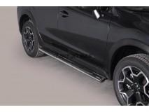 Side Steps Subaru XV 2012+ Stainless Steel GPO