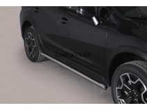 Side Protections Subaru XV 2012+ Stainless Steel Tube 63MM